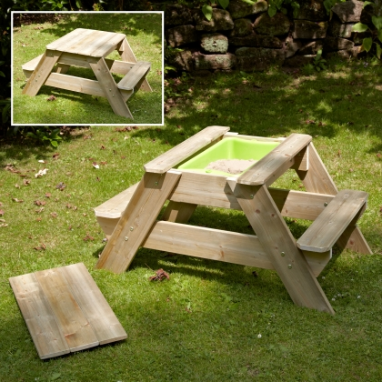 TP Early Fun picnic table with and w