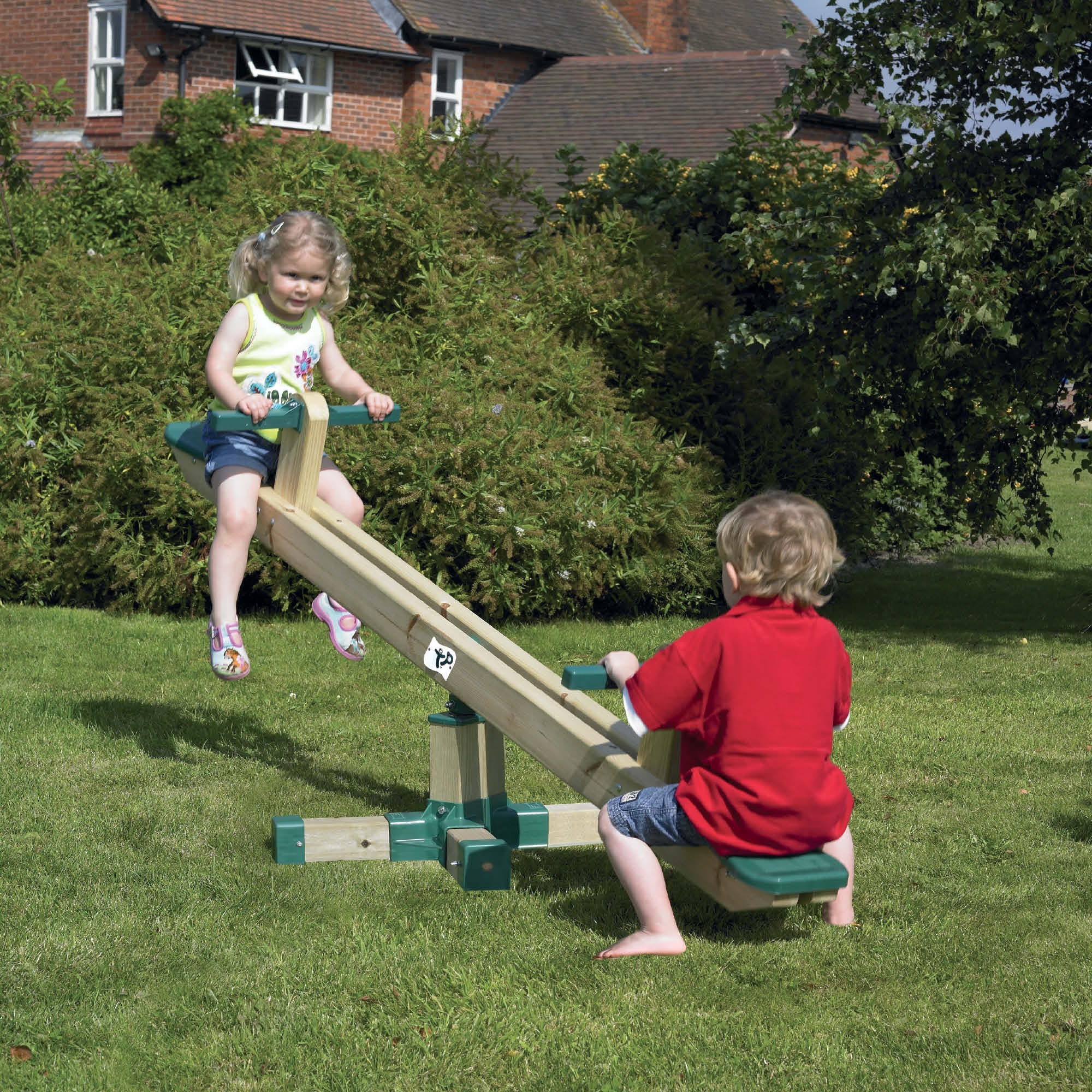 Wooden Outdoor Seesaw