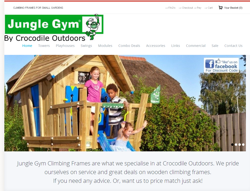 Jungle Gym Wooden Climbing Frames for Children