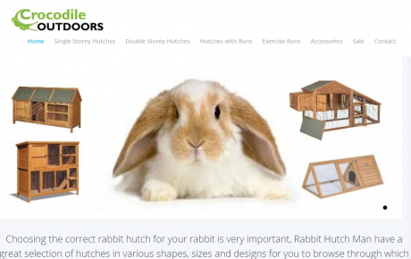 Rabbit Hut Man has a great selection of Rabbit Hutches