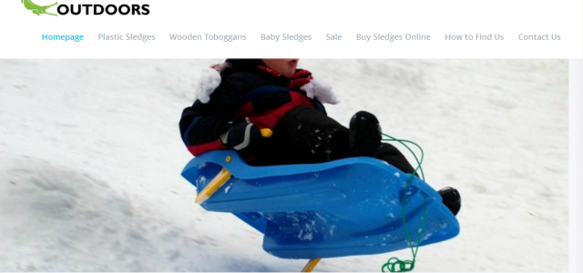 Sledges available all year round online and from our shop in Bingham Nottingham