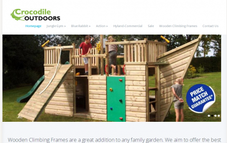 Wooden Climbing Frames for Children